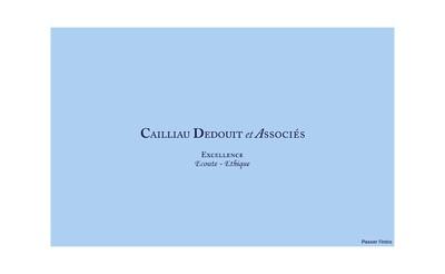 Site internet de Cailliau Dedouit et Associes