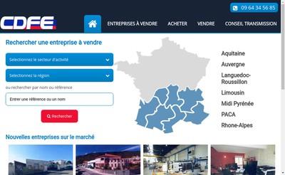 Site internet de CDFE