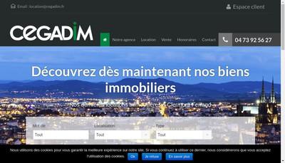 Site internet de Cegadim
