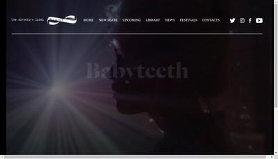 Site internet de Celluloid Dreams