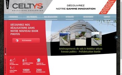 Site internet de Celtys