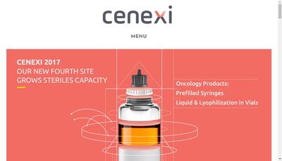 Site internet de Cenexi Services