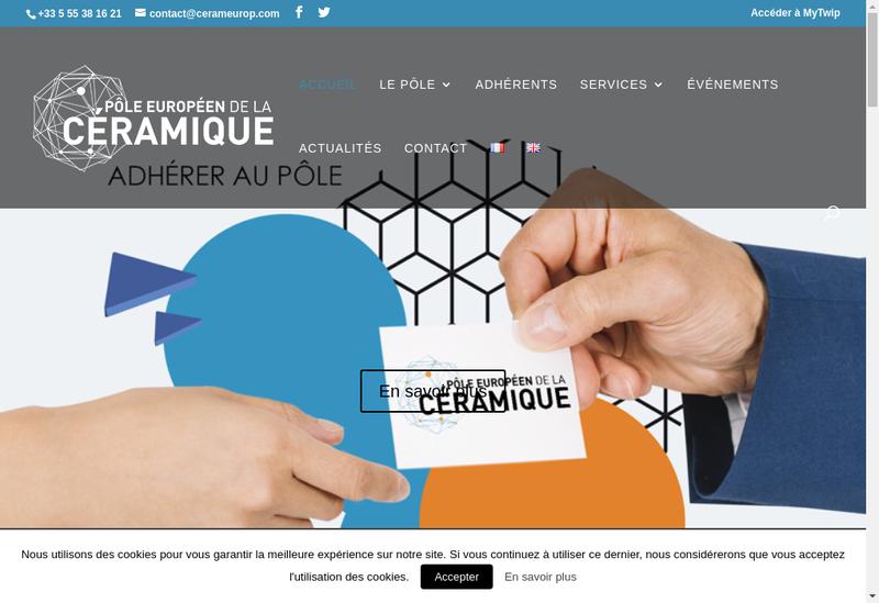 Capture d'écran du site de Efficient Innovation
