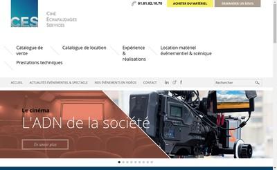 Site internet de Action Scenes