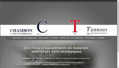 Site internet de Etablissements Chambon & Fils