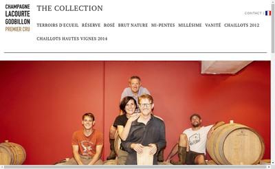 Site internet de Lacourte-Godbillon