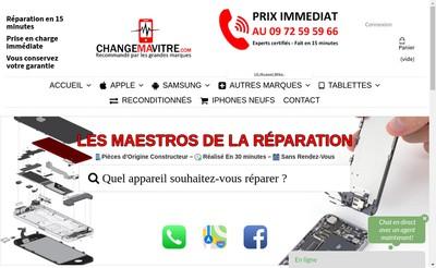 Site internet de Changemavitre Com