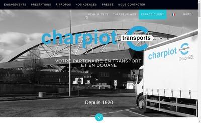 Site internet de Alphonse Charpiot et Compagnie