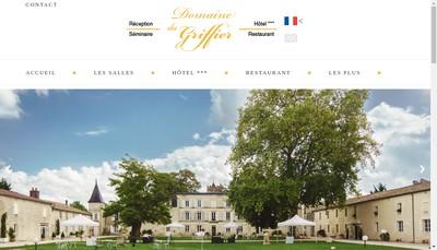 Site internet de La Table de Sebastien
