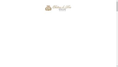 Capture d'écran du site de Hostellerie du Chateau de Fere