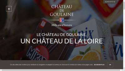 Site internet de Chateau de Goulaine