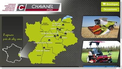 Site internet de Chavanel Agri