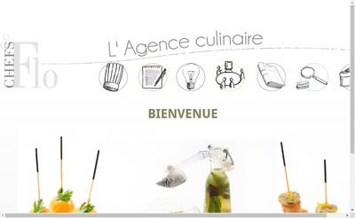 Site internet de Chefs & Flo