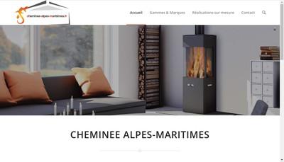 Site internet de Cheminees Richard le Droff