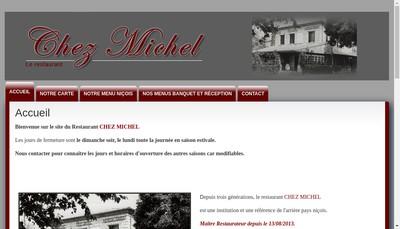 Site internet de Chez Michel
