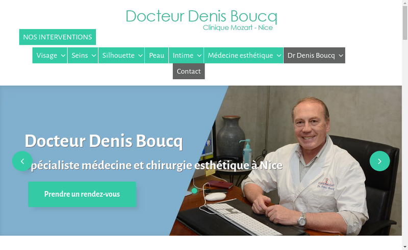 Site internet de Denis Boucq