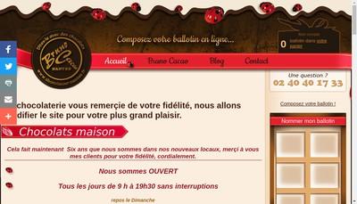 Site internet de Bruno Cacao