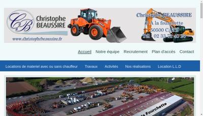 Site internet de Christophe Beaussire