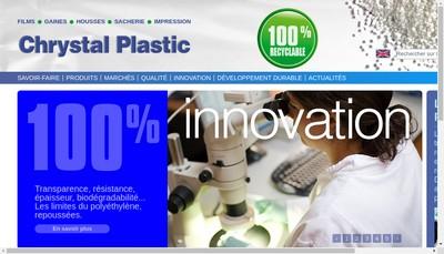 Site internet de Chrystal Plastic