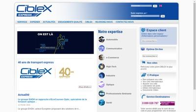 Site internet de Ciblex France