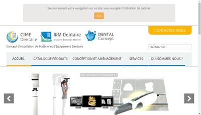 Site internet de Irm Dentaire