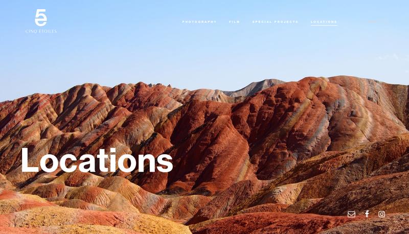 Capture d'écran du site de Made Production