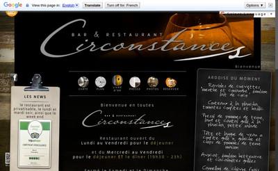 Site internet de Circonstances