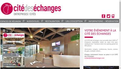 Site internet de Cite des Echanges