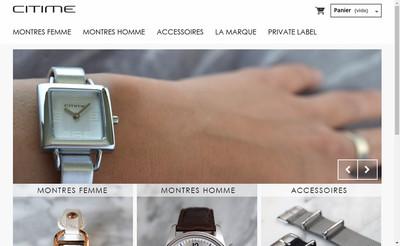 Site internet de Citime