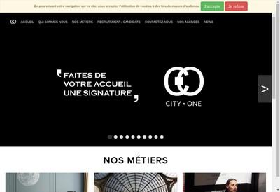 Site internet de City One Accueil, City One Selection
