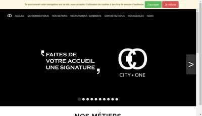 Site internet de Groupe City One