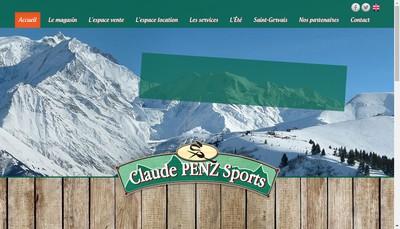 Site internet de Claude Penz SARL