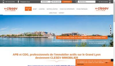Site internet de Clesev