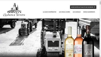 Site internet de Clochers et Terroirs