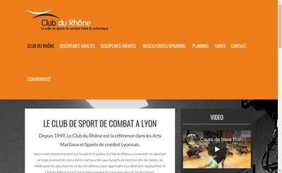 Site internet de Club du Rhone