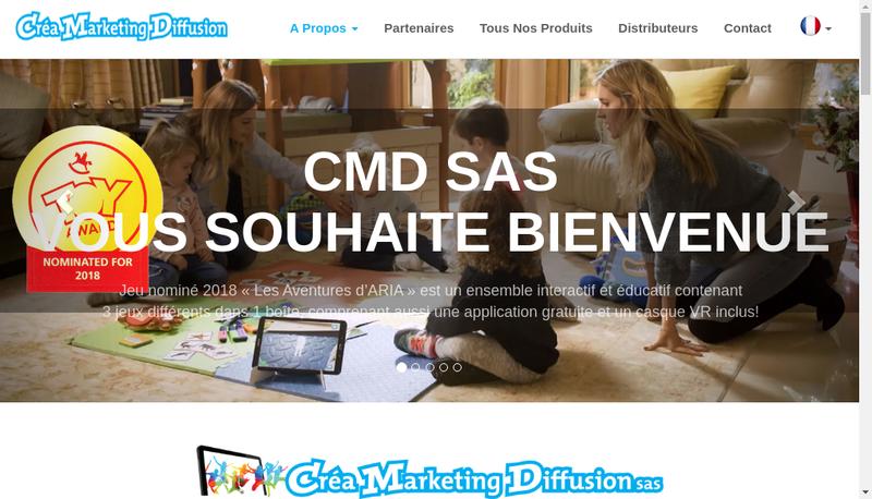Capture d'écran du site de Green Product