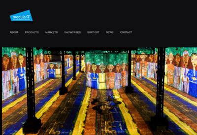 Capture d'écran du site de Cmotec