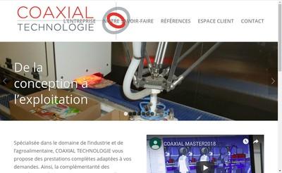 Site internet de Coaxial Technologie