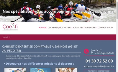 Site internet de Chd Coexfi