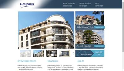 Site internet de Cofiparis