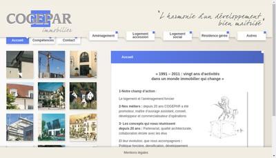 Site internet de Cogepar