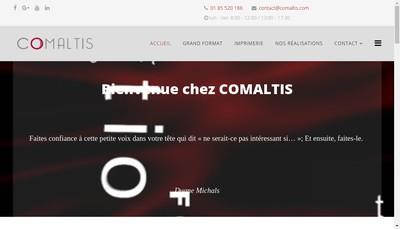 Site internet de Comaltis