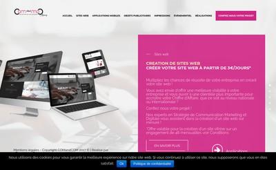 Site internet de Comandcom