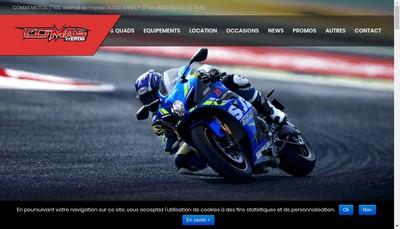 Site internet de Comas Motos