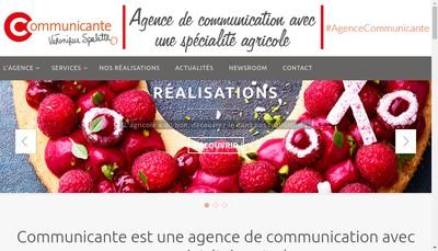 Site internet de Communicante