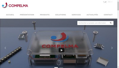 Site internet de Compelma