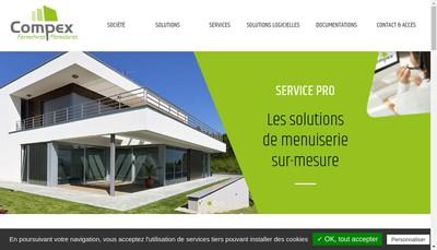 Site internet de Compex SAS