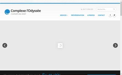 Site internet de Complexe l'Odyssee