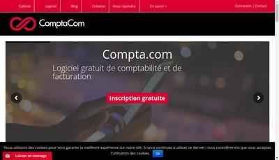 Site internet de Comptacom