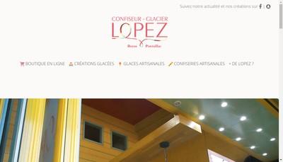 Site internet de SARL Lopez